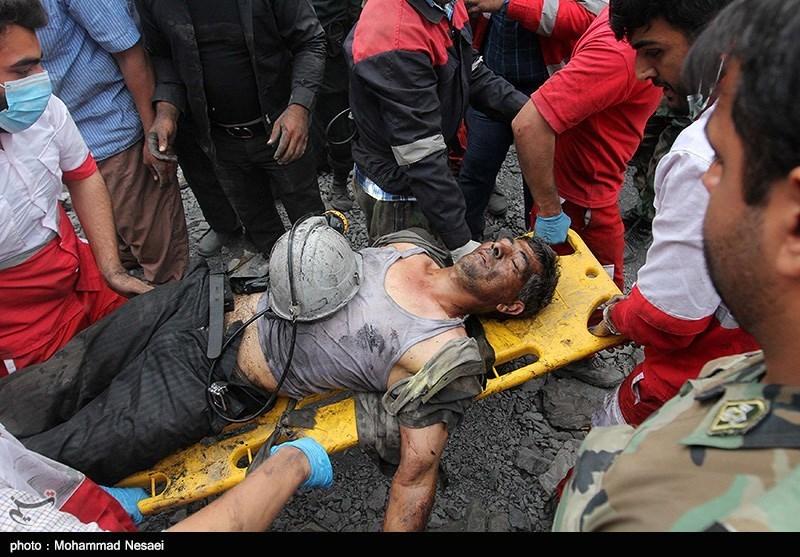 گزارش لحظه به لحظه تسنیم از آخرین اخبار حادثه معدن یورت