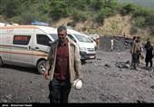 یک معدنچی حادثه معدن آزادشهر در بخش آیسییو بستری است