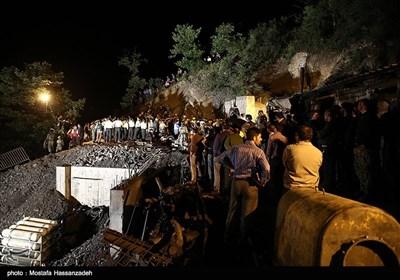 اخراج جثامین ضحایا انفجار منجم کلستان