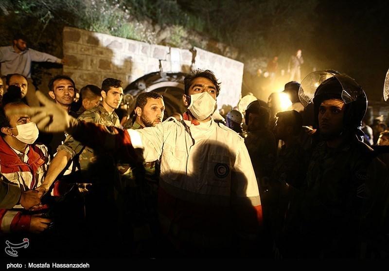 اعزام نیروهای امدادی هلال احمر اردبیل برای کمکرسانی به زلزلهزدگان کرمانشاه