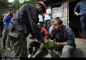 یک دقیقه سکوت به احترام قربانیان حادثه معدن ذغال سنگ آزادشهر