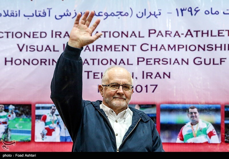 IPC President Craven Praises Iran's Progress within the Paralympic Movement