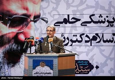سخنرانی ناصر سیمفروش رئیس کمیته سلامت ستاد انتخاباتی حجتالاسلام سید ابراهیم رئیسی