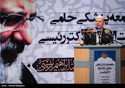 سخنرانی مسعود میرکاظمی در همایش حامیان پزشکی حجتالاسلام سید ابراهیم رئیسی