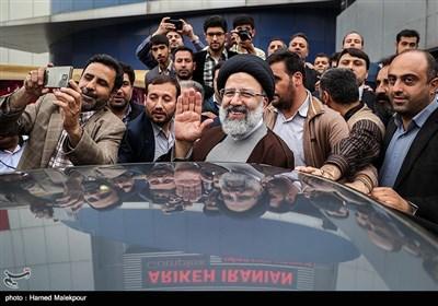حجتالاسلام سید ابراهیم رئیسی در پایان همایش حامیان پزشکی