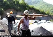 ایمنسازی دیوارههای تونل معدن زمستان یورت در حال اجراست