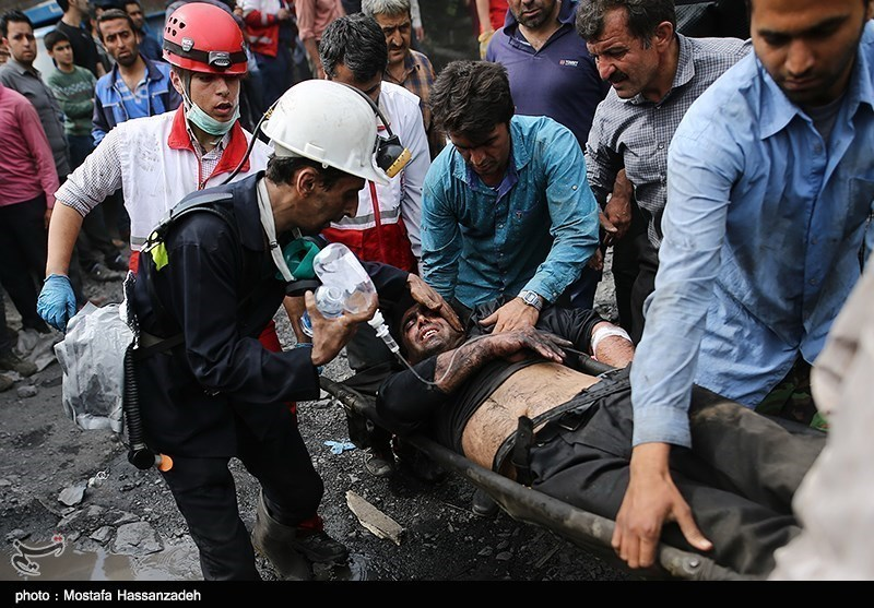 Death Toll in Iran Mine Blast Rises to 42 as New Bodies Found