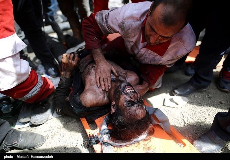 22 اکیپ عملیاتی نجاتگر هلال احمر در حادثه معدن آزادشهر امدادرسانی میکنند