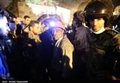 جهانگیری و ربیعی از مصدومان معدن یورت آزادشهر عیادت میکنند
