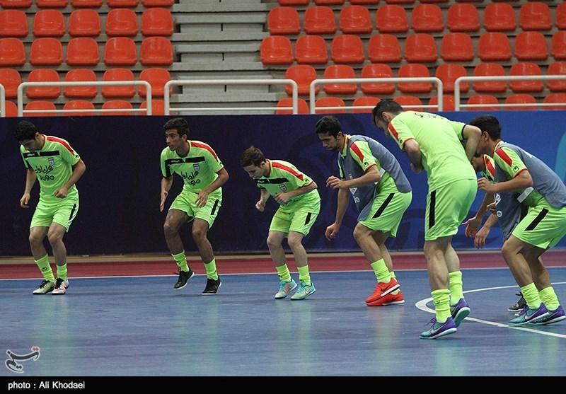 اردوی تیم لی فوتسال زیر 20 سال در اصفهان