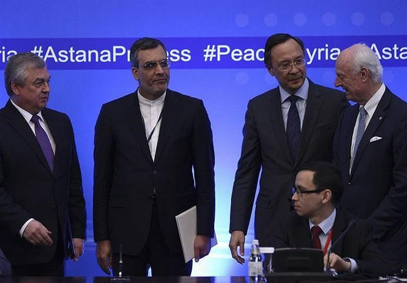 Iran, Russia, Turkey Begin 8th Round of Astana Talks on Syria