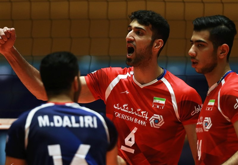 Iran Demolishes Kazakhstan in Asian U-23 Volleyball Championship