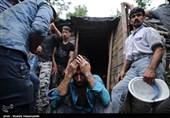 حضور نماینده مقام معظم رهبری در محل حادثه معدن آزادشهر