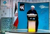 روحانی یدافع عن إنجازات حکومته الداخلیة والخارجیة