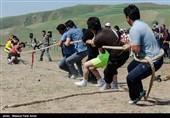 جشنواره فرهنگی ورزشی عشایر در منطقه قره قیه شهرستان کلیبر
