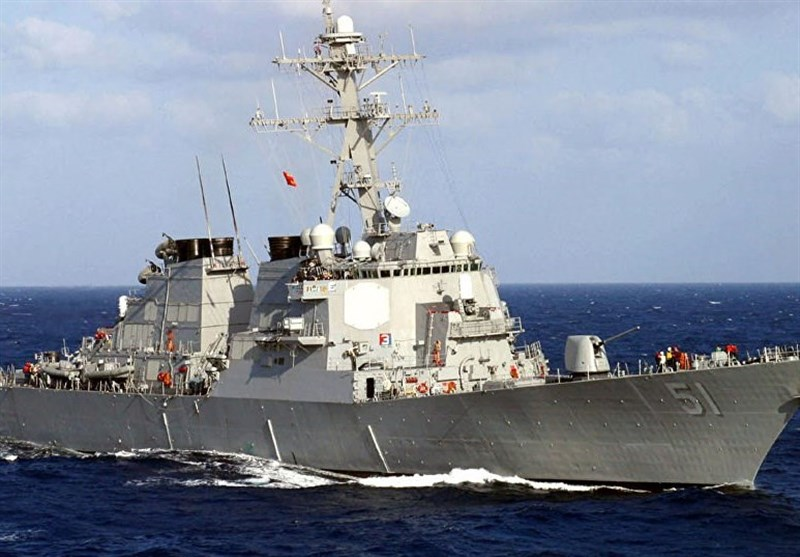 US Guided Missile Destroyer Oscar Austin Enters the Black Sea
