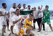 Iran Comes Third in FIFA Beach Soccer World Cup