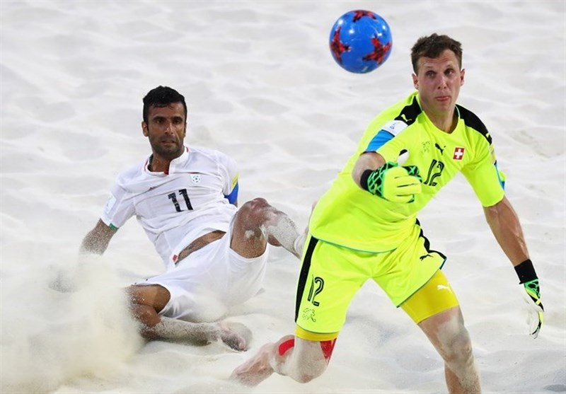 Iran Beach Soccer Remains 3rd at Rankings