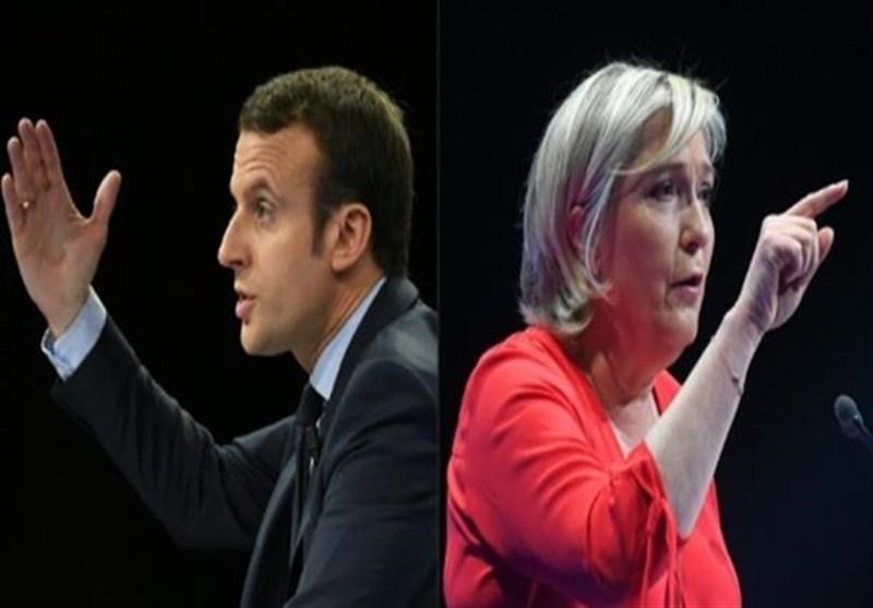 فرانسه انتخابات ماکرون و لوپن