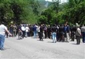 اعتراض خانوادههای فاجعه معدن یورت آزادشهر به رئیس جمهور+عکس