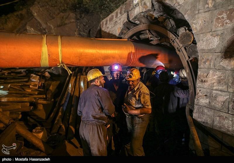 حضور علی ربیعی در معدن زمستان یورت - گلستان