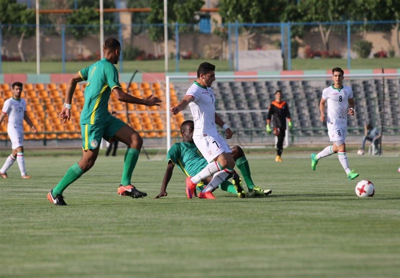 Iran U-20 Football Team Held by Senegal