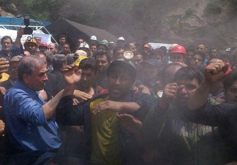 Maden Faciasında Hayatını Kaybedenleri Yakınları Ruhani'ye Saldırdı +Video