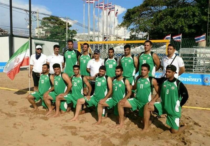 پیروزی ایران مقابل ویتنام در مسابقات قهرمانی هندبال ساحلی جهان