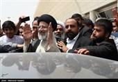 زیارة المرشح حجة الإسلام إبراهیم رئیسی لمدینة الأهواز