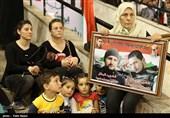 تکریم 5000 عائلة شهید فی اللاذقیة ورسائل الأهالی لإیران الإسلامیة +فیدیو وصور