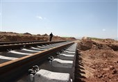 خط راه آهن فولاد صبا از ریز به یزد افتتاح شد