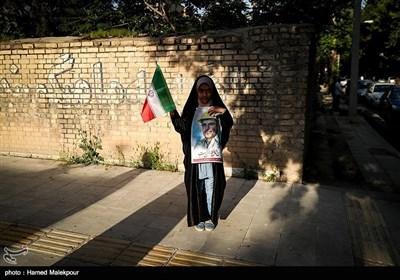قلیباف کی صوبہ لرستان میں انتخاباتی مہم