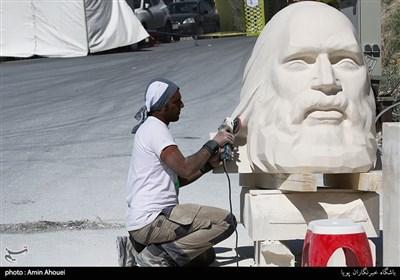 Milad Tower Hosting 8th Int'l Tehran Sculpture Symposium