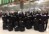 تیم والیبال بانوان به تایلند رسید