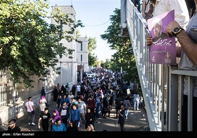 Rouhani Attends Gathering of His Female Supporters in Tehran
