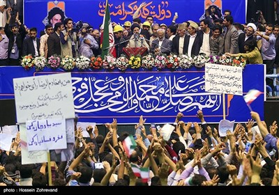 Iranian Presidential Hopeful Raisi Visits Kerman on Campaign Trail