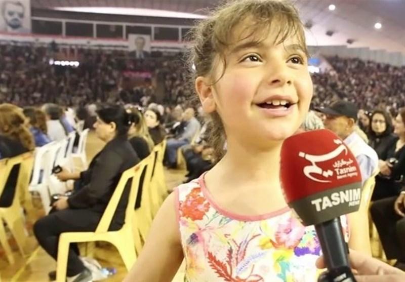 شامی بچی