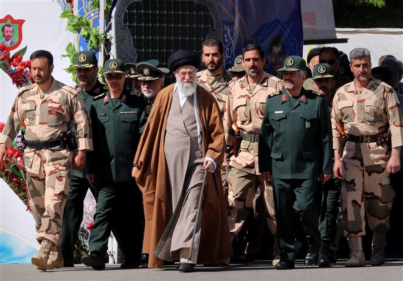 دانش آموختگی پاسداری امام خامنهای