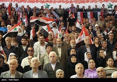 شام کے شہر لاذقہ میں 5 ہزار شہیدوں کی یاد میں پروقار تقریب