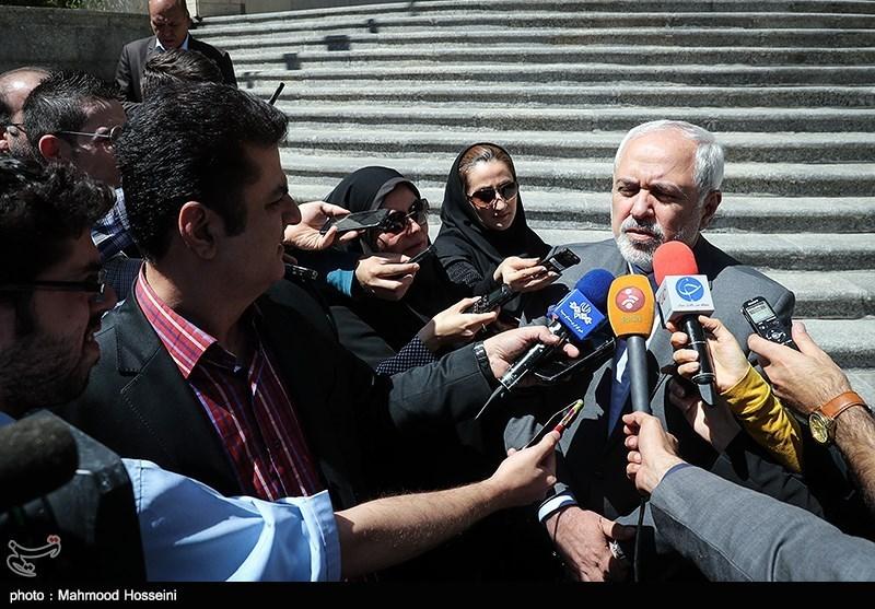ماجرای ورود غیرمجاز هواپیمای سعودی به آسمان ایران از زبان ظریف + فیلم