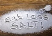 سردرد بهخاطر نمک