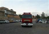 اصفهان  ارتقای ناوگان آتشنشانی شهرک صنعتی رازی شهرضا