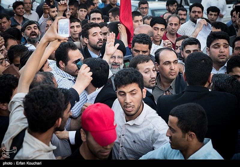 Presidential Candidate Raisi Addresses Campaign Rallies near Tehran