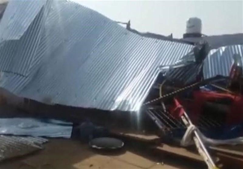 فروریختن دیوار در هند