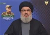 """Nasrallah: İsrail Etrafına Duvar Örerek, """"Büyük İsrail"""" Projesinin Yenilgisini İtiraf Etti"""