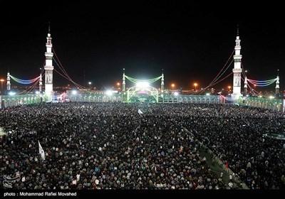 مسجد جمکران در شب میلاد حضرت مهدی (عج)
