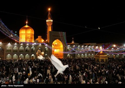 Imam Mahdi (AS) Birth Anniversary Celebration Held in Mashhad