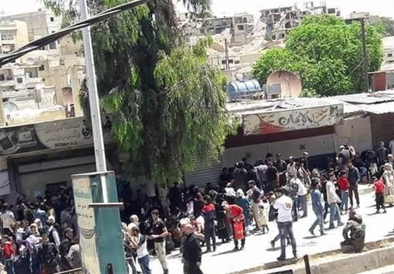 Last Batch of Takfiri Militants Leave Syria's Barzeh