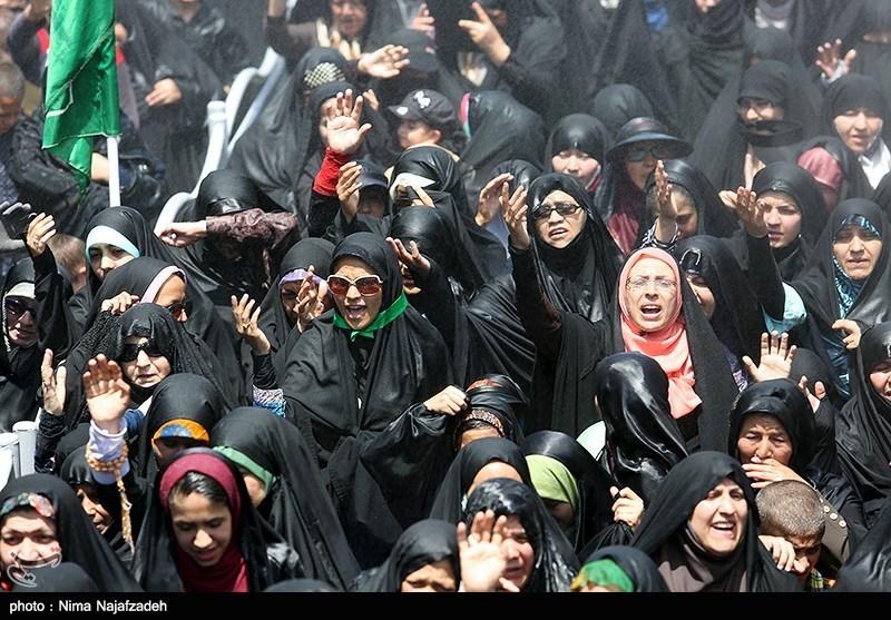 تظاهرات مردم قم علیه سند 2030 یونسکو