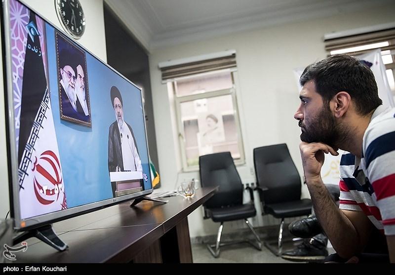 تماشای مناظره در ستاد های انتخاباتی